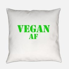 Vegan AF Green Everyday Pillow