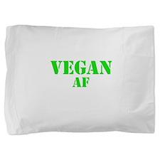 Vegan AF Green Pillow Sham