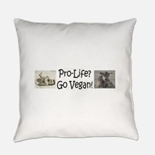 ProLife Vegan.png Everyday Pillow