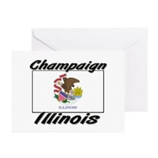 Champaign Illinois Greeting Cards (Pk of 10)
