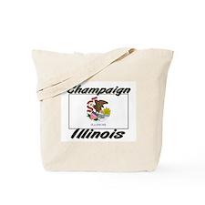 Champaign Illinois Tote Bag
