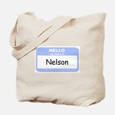 My Name is Nelson Tote Bag