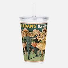 Vintage poster - Banke Acrylic Double-wall Tumbler
