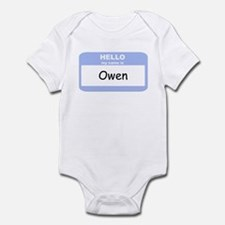 My Name is Owen Infant Bodysuit