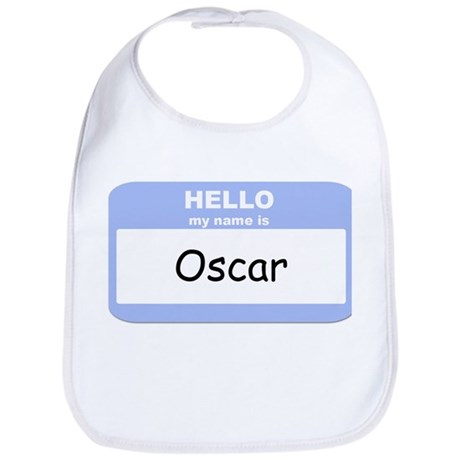 My Name is Oscar Bib