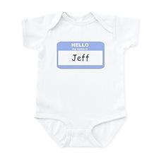 My Name is Jeff Infant Bodysuit