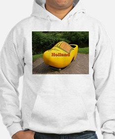 Holland: giant yellow clog Hoodie