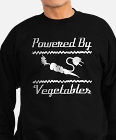 Cute Vegetarianism Sweatshirt (dark)