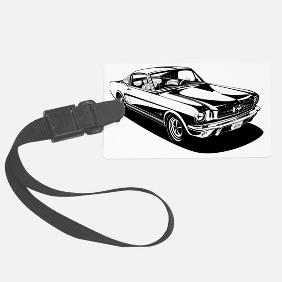 Ford mustang Large Luggage Tag
