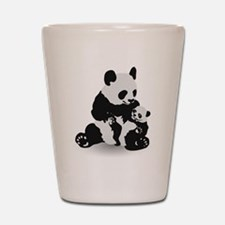 Panda & Baby Panda Shot Glass