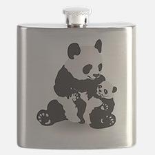 Panda & Baby Panda Flask
