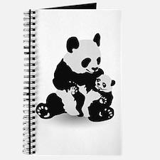 Panda & Baby Panda Journal
