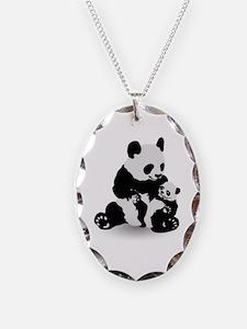 Panda & Baby Panda Necklace