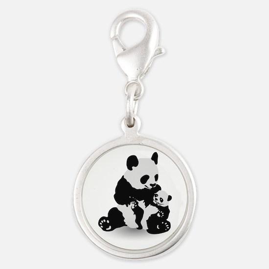 Panda & Baby Panda Charms