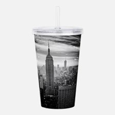 New York Acrylic Double-wall Tumbler