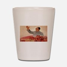Vintage poster - Mao Zedong Shot Glass