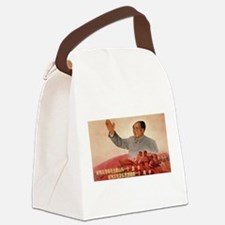 Vintage poster - Mao Zedong Canvas Lunch Bag