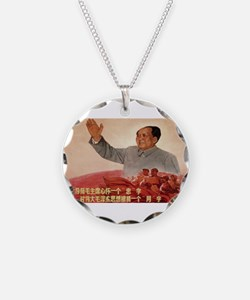 Vintage poster - Mao Zedong Necklace