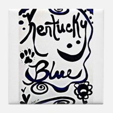 Cute Uk basketball Tile Coaster