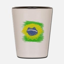 Cute Brazil Shot Glass