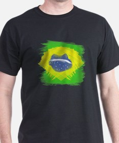 Cute Brazil flag T-Shirt