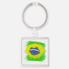 Unique Sao paulo Square Keychain