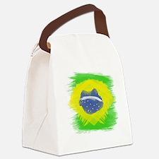 Cute Brazil Canvas Lunch Bag