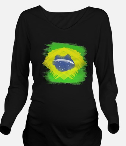 Cute 2011 women%27s world cup Long Sleeve Maternity T-Shirt