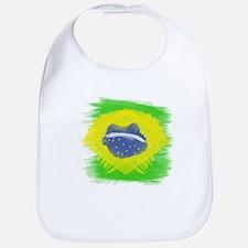 Brazil Flag Brasilian Rio Bib