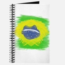 Brazil Flag Brasilian Rio Journal