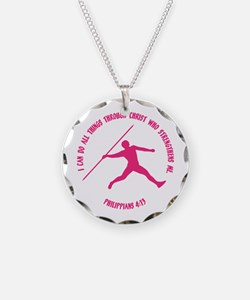 JAVELIN, PHIL.4:13 Necklace