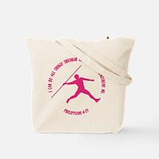 JAVELIN (both sides) Tote Bag