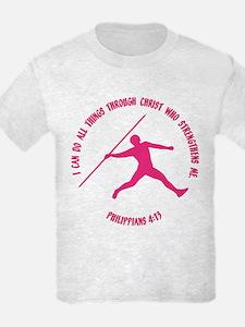 JAVELIN, PHIL.4:13 T-Shirt