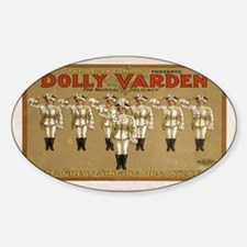 Vintage poster - Dolly Varden Decal