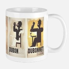 Vintage poster - Dubonnet Mugs