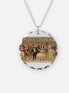 Vintage poster - Greece Necklace
