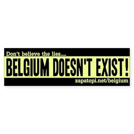 Belgian TRUTH Bumpersticker