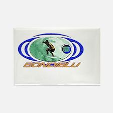 buble surfer Rectangle Magnet