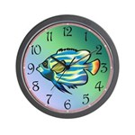 Tropical Fish 1 Wall Clock