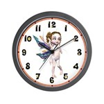 Shandra the Fairy Wall Clock