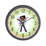 Jasmine the Hip Hop Fairy Wall Clock