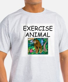 TOP Exercise Animal T-Shirt