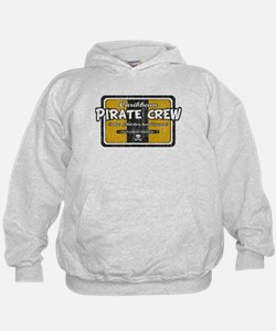 Cool Pirate gold Hoodie