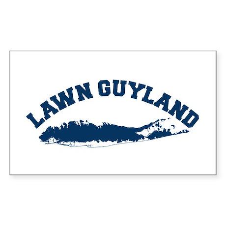 LAWN GUYLAND Rectangle Sticker