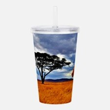 Lioness Storm Acrylic Double-wall Tumbler