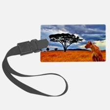 Lioness Storm Luggage Tag