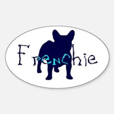 Unique French bull dogs Decal