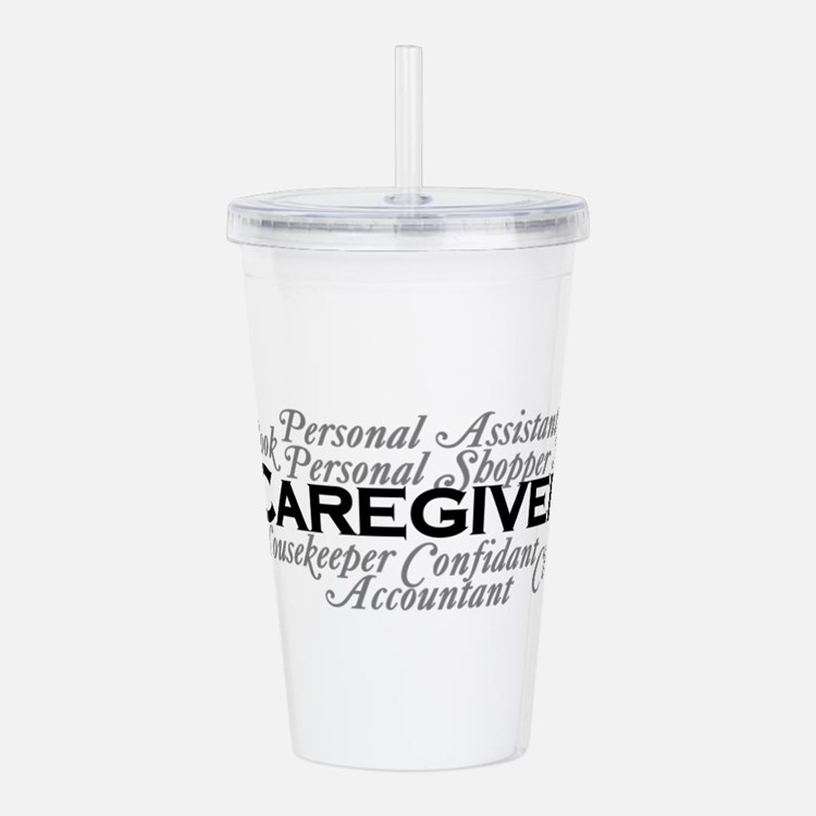 Caregiver Acrylic Double-Wall Tumbler