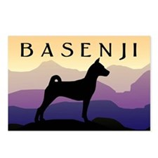 Basenji Purple Mountains Postcards (Package of 8)