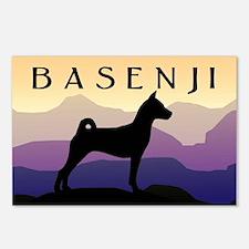 Basenji Purple Mountains Postcards (Package of 8)